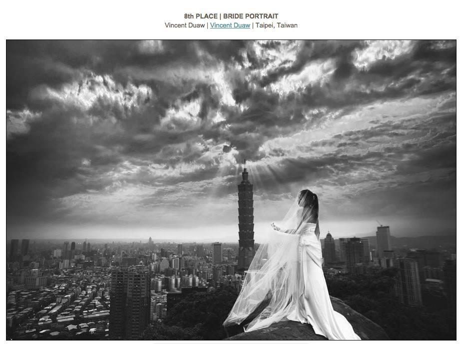 婚紗攝影得獎