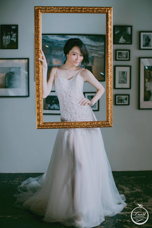 工業風婚紗照