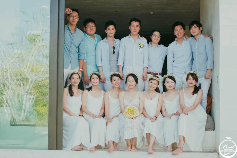 海外婚禮紀錄合照