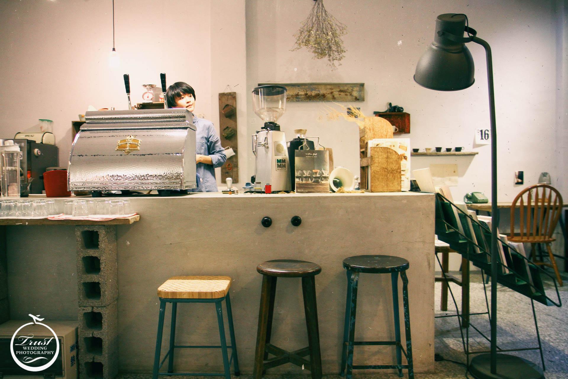 咖啡吧台情境攝影