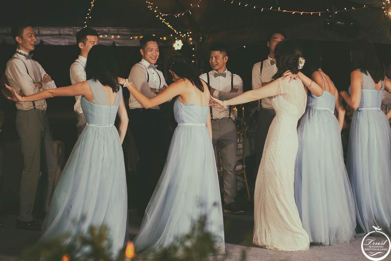 戶外婚禮晚宴攝影