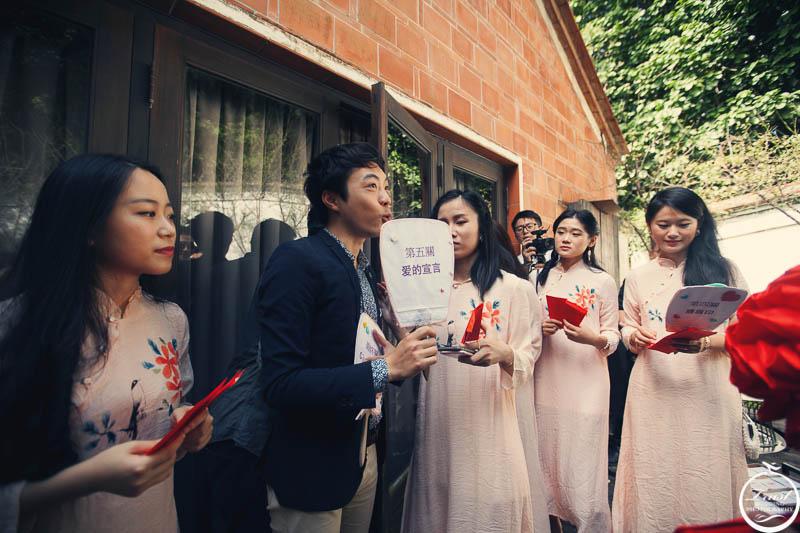 婚禮迎娶攝影