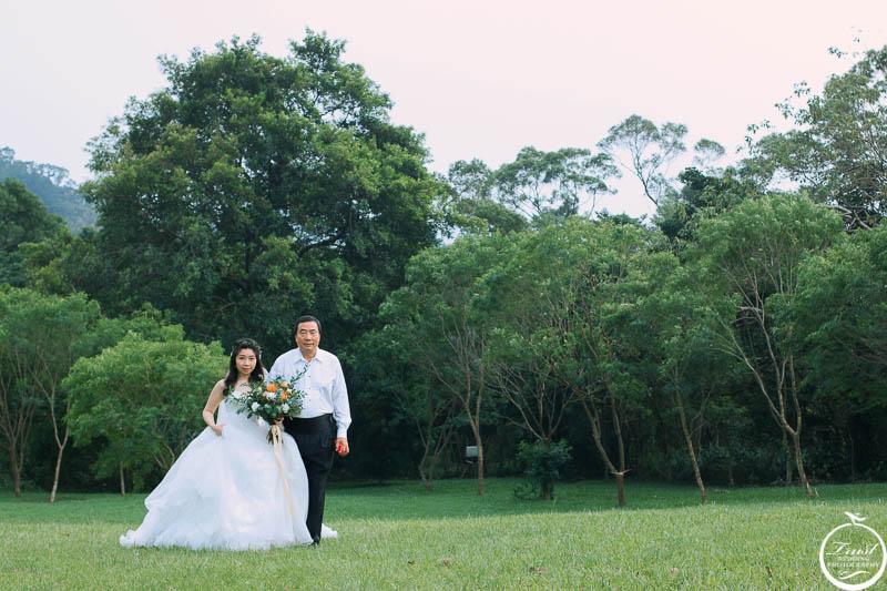 草地婚禮費用