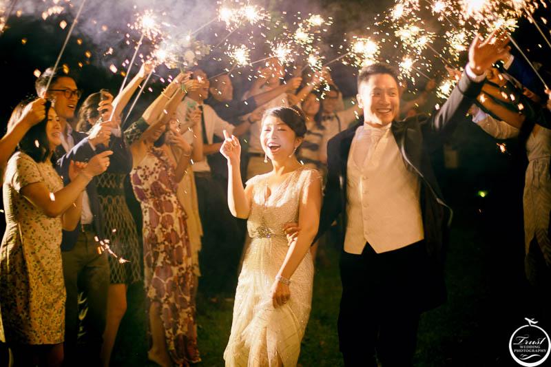 戶外婚禮進場攝影