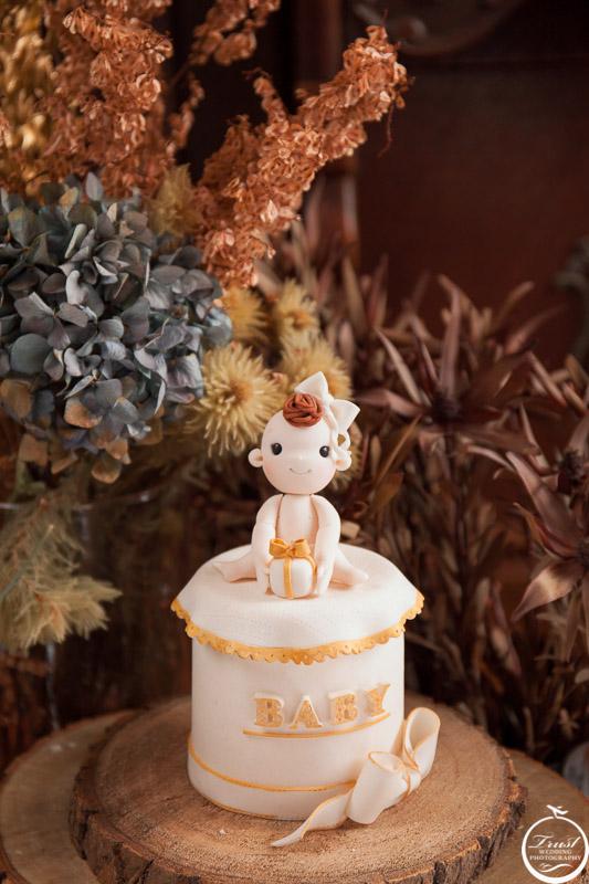 彌月翻糖蛋糕攝影