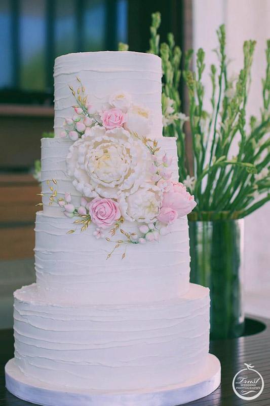結婚四層蛋糕