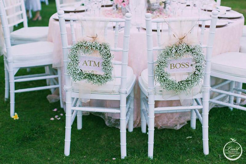 純白草地風格婚宴