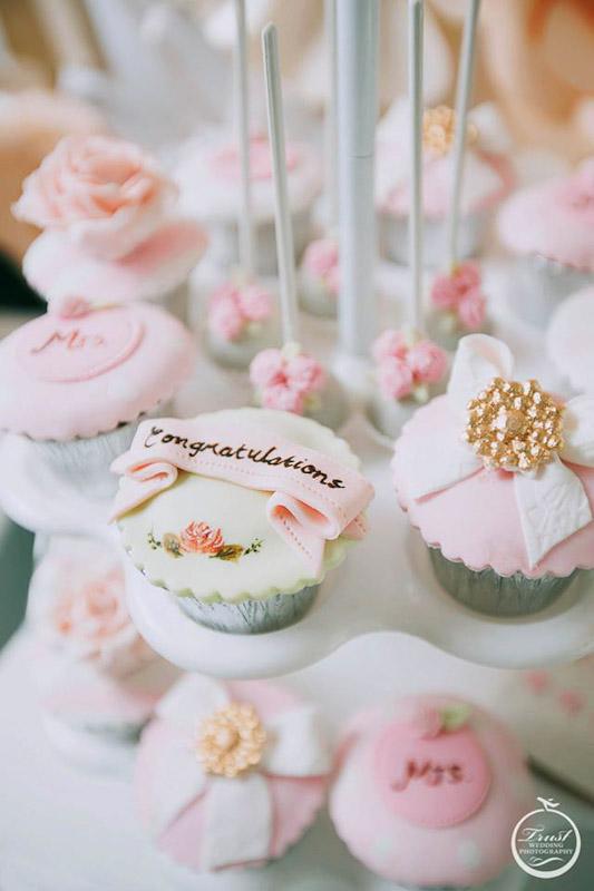結婚杯子蛋糕