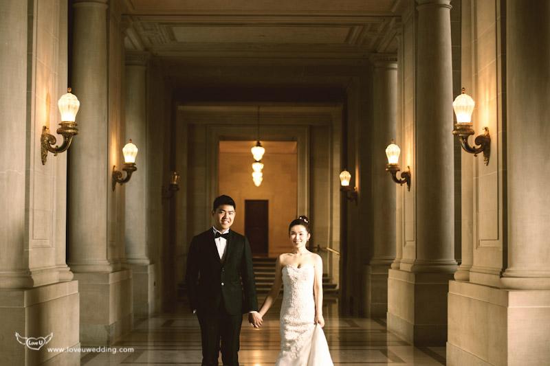 華人街婚紗