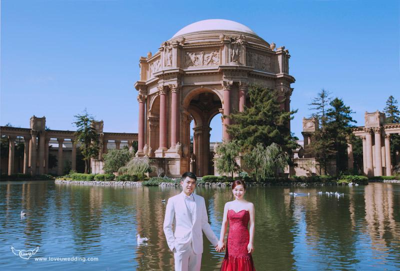 舊金山海外婚紗
