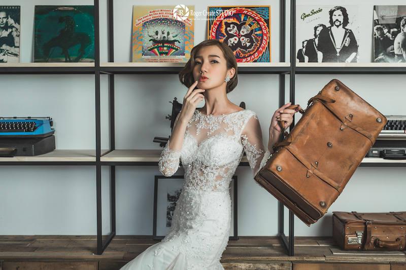 工業風婚紗攝影