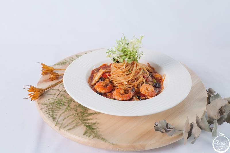 茄汁義大利麵 美食攝影