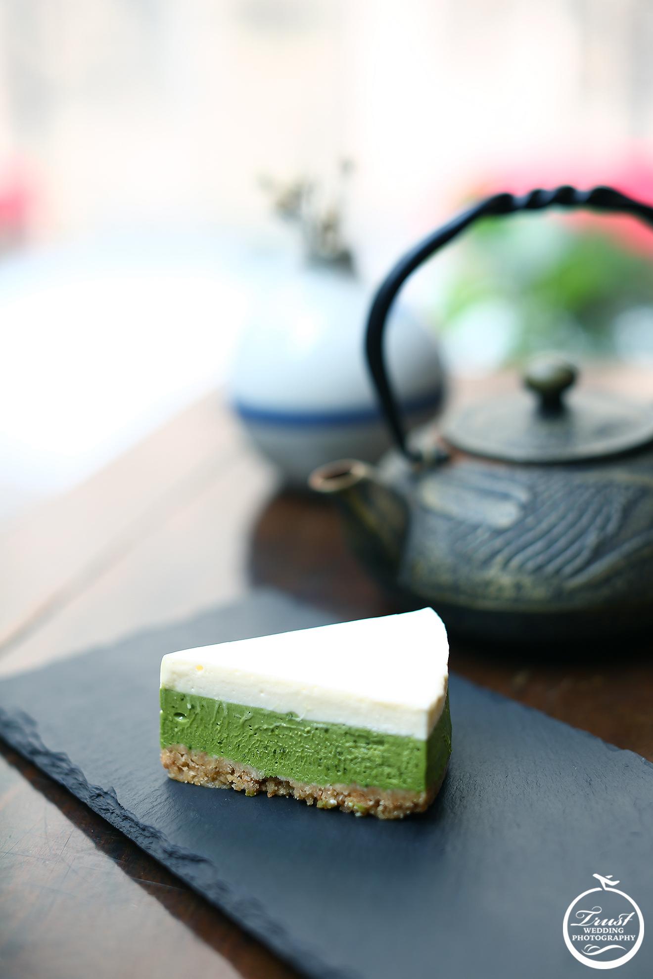 抹茶蛋糕 甜點攝影