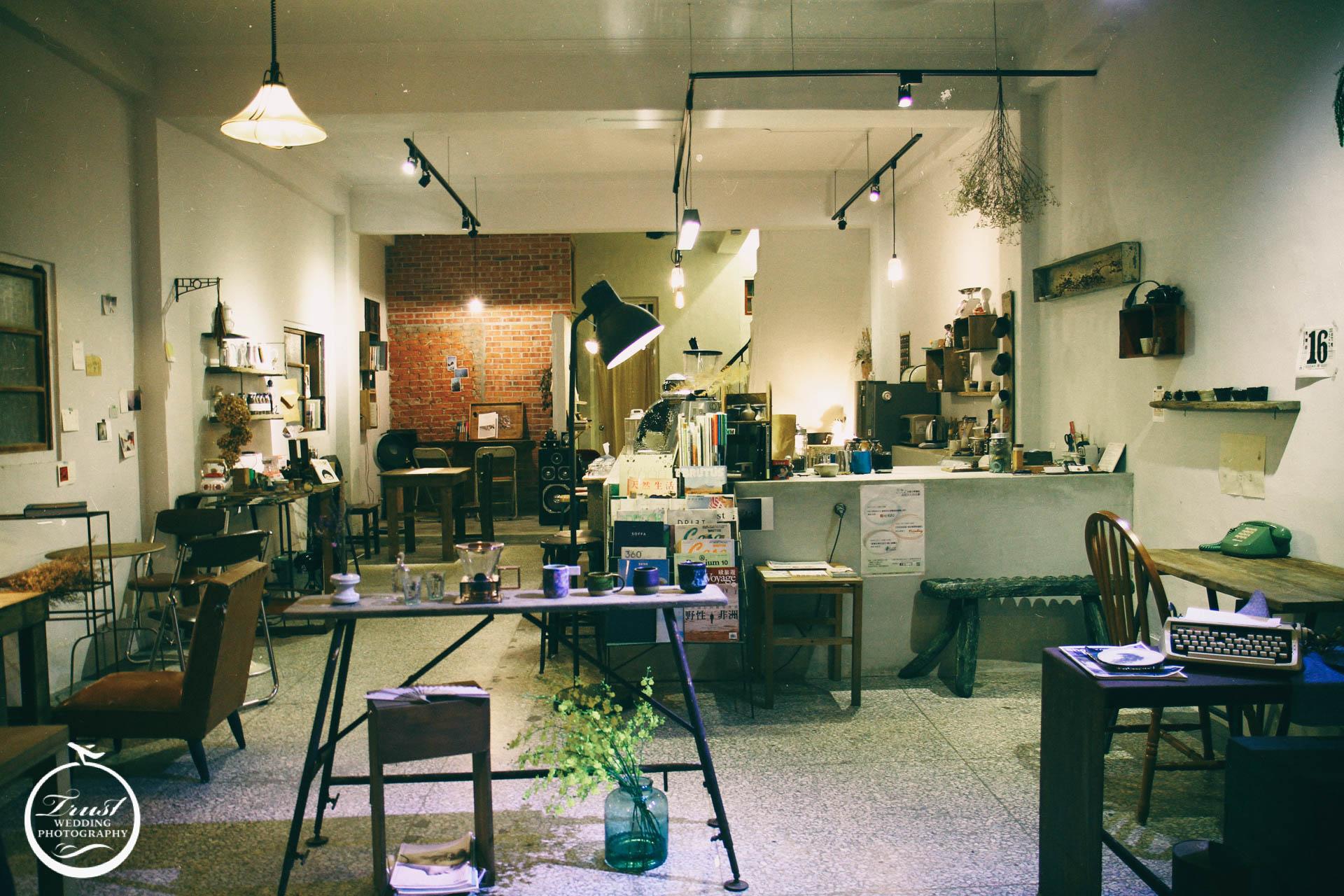 人文咖啡空間攝影