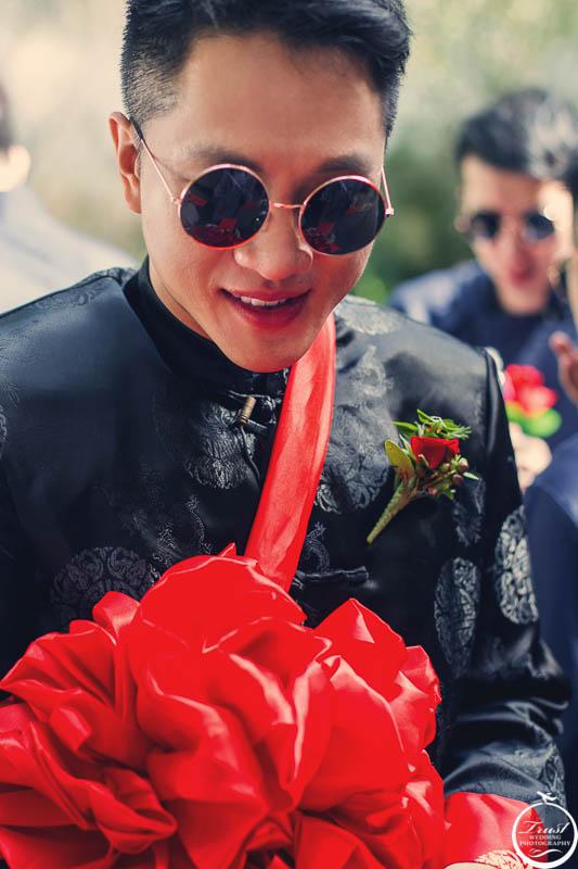 中式婚禮服飾