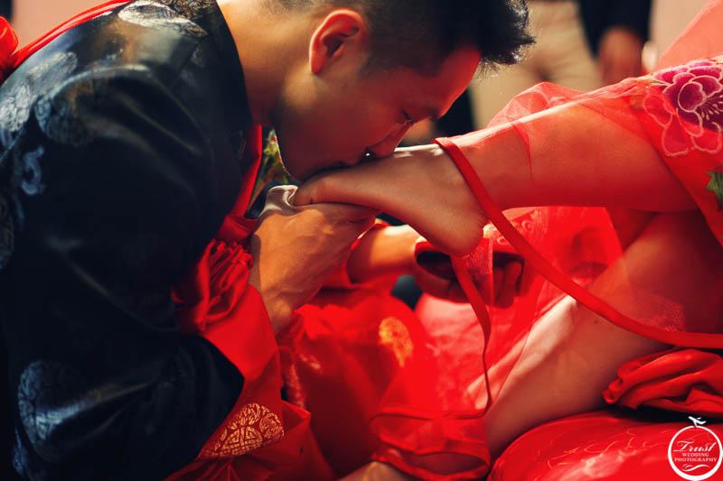 中式婚禮習俗