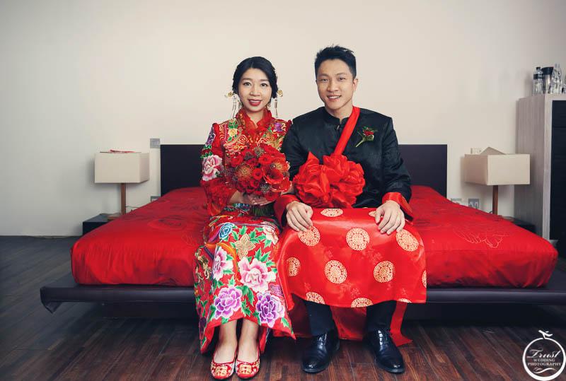中式婚禮服裝