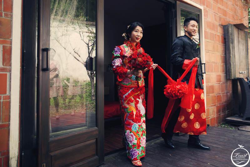 中式傳統婚禮拍攝