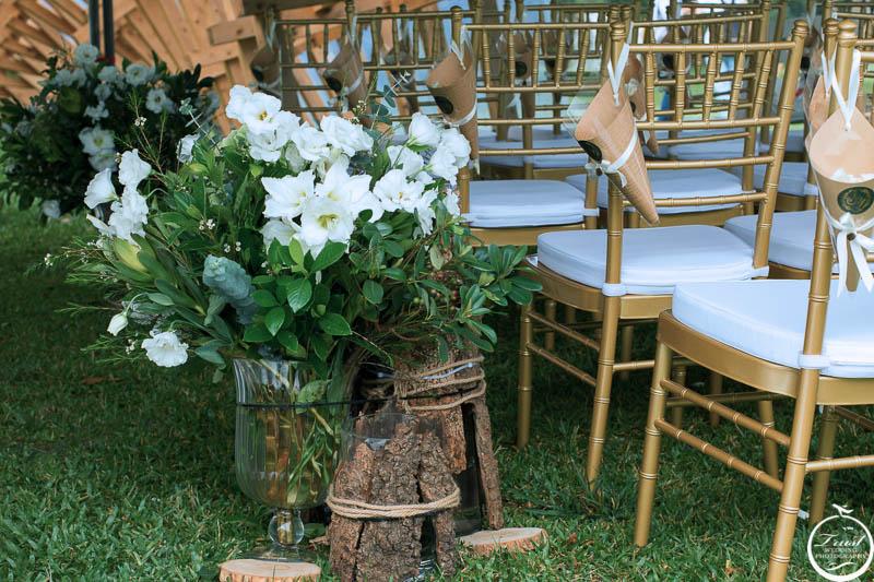 室外婚禮佈置