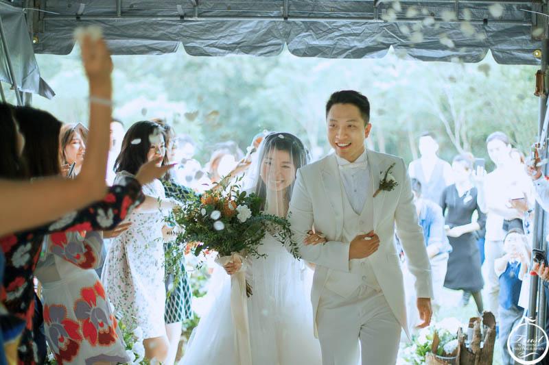 婚禮進場情境攝影