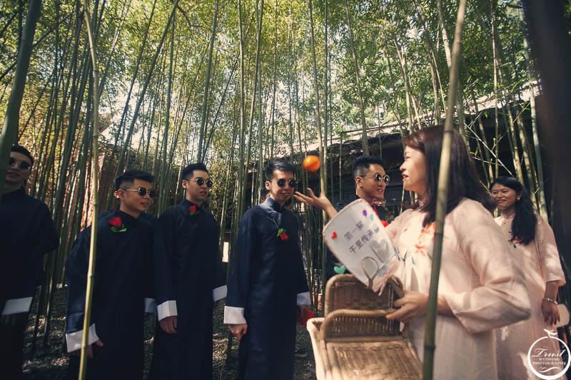 復古婚禮服飾