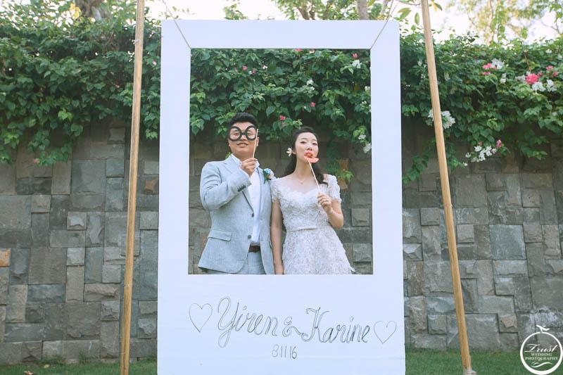 沙灘西式婚禮攝影
