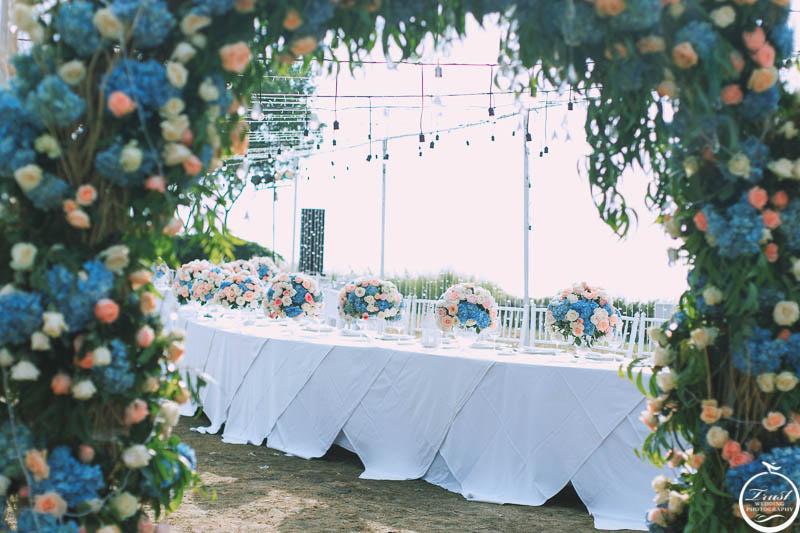 海邊西式婚禮攝影