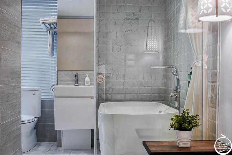 飯店衛浴設施實景
