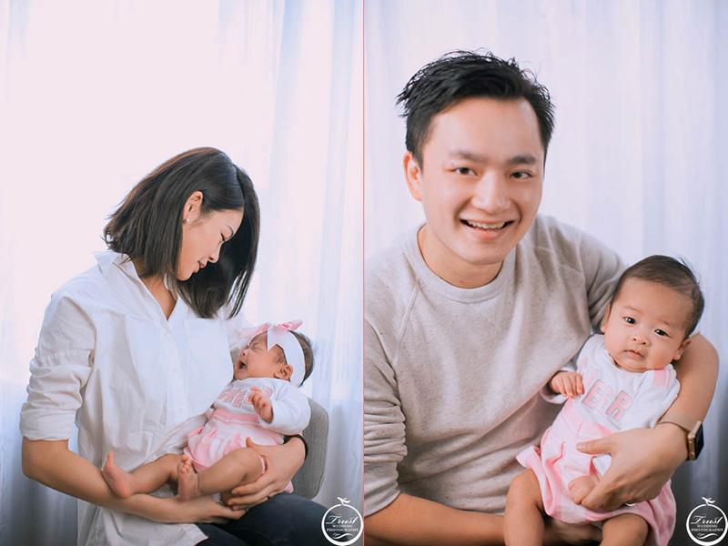 專業家中寶寶攝影