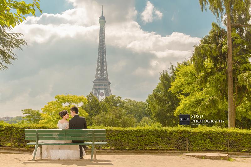 法國海外婚紗