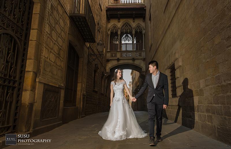 巴塞隆納婚紗攝影