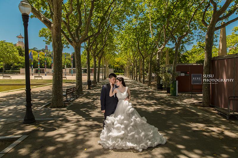 西班牙拍婚紗