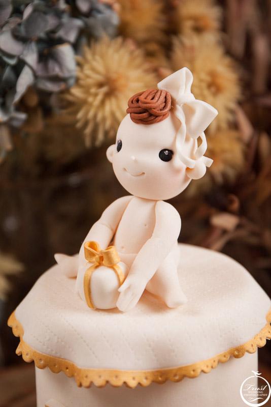 蛋糕糖偶拍攝