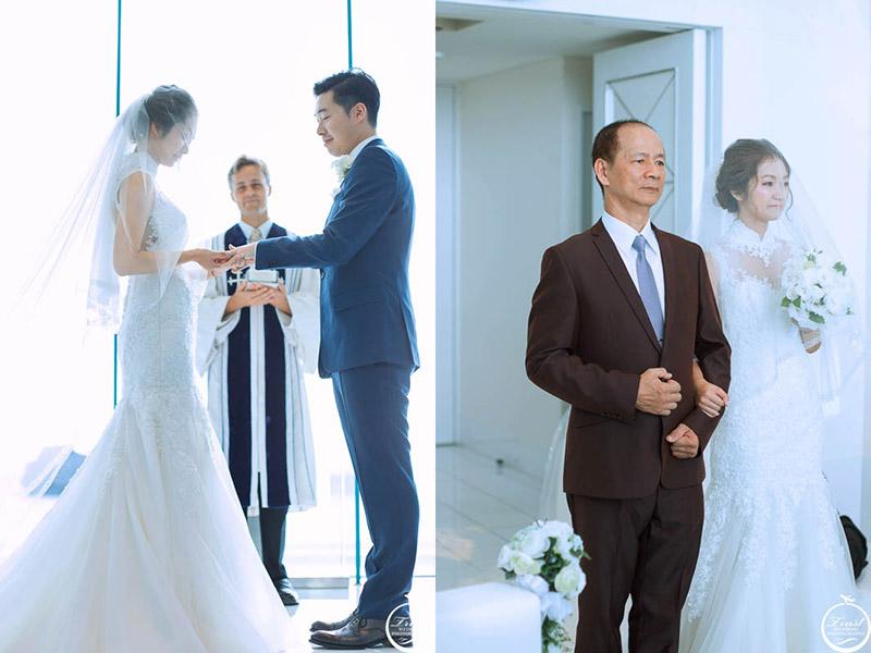 沖繩愛妮斯教堂婚禮