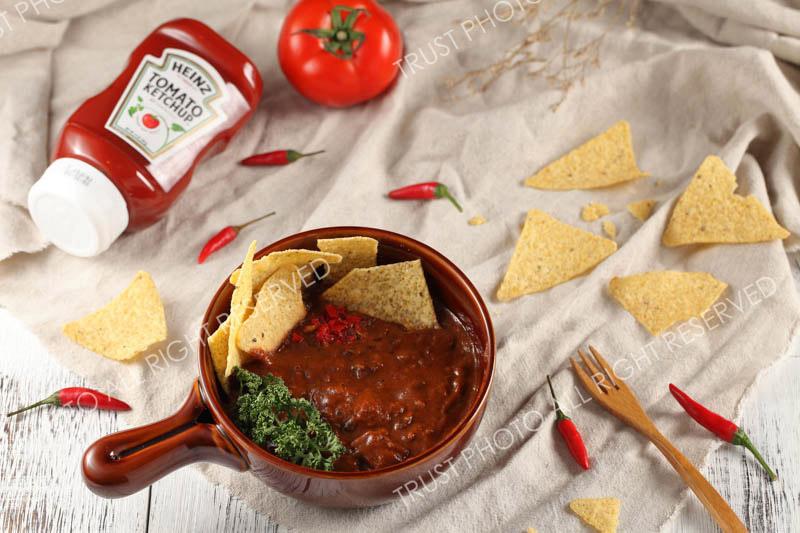 Heinz亨氏蕃茄醬廣告攝影