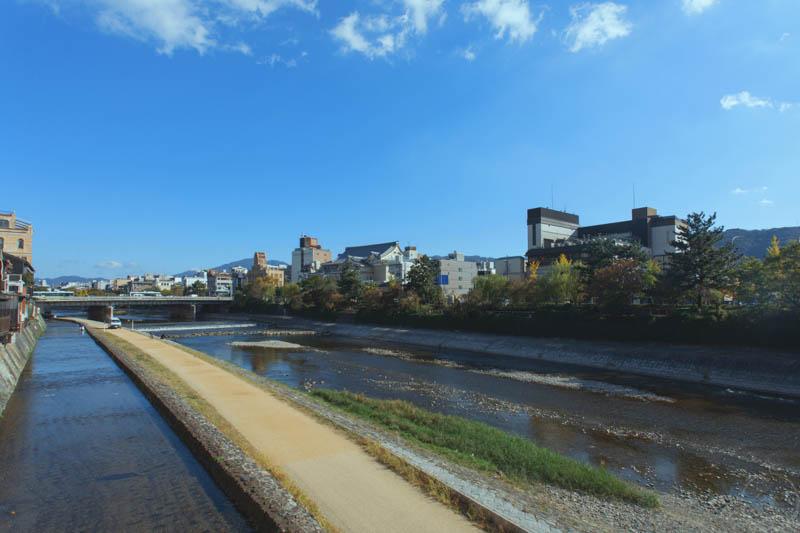 京都鴨川風景1