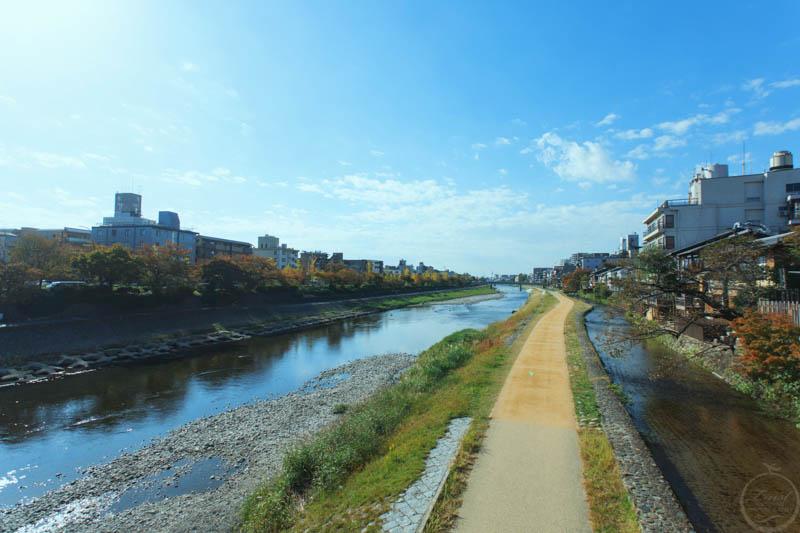 京都鴨川風景2