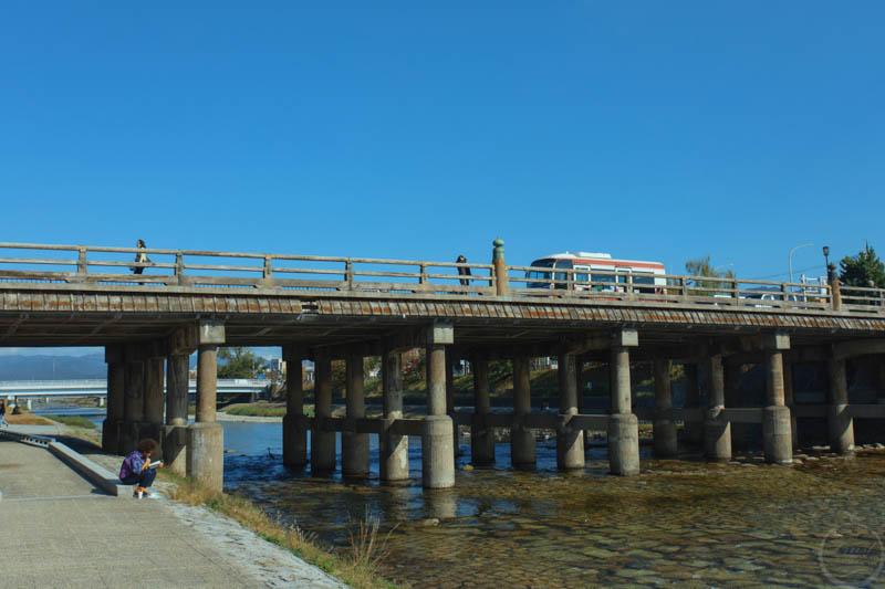 京都鴨川風景6